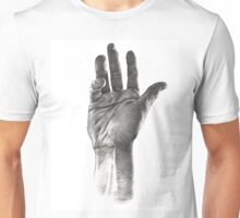 Right hand of lonely gratification Unisex T-Shirt