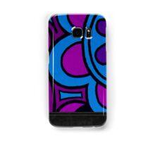 60s Groove - purple Samsung Galaxy Case/Skin