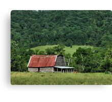"""""""A Farmer's Version of the Red Roof Inn""""... prints and products Canvas Print"""