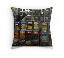Biscuits farmer Throw Pillow
