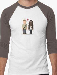 The Walking Dead - Richonne Men's Baseball ¾ T-Shirt