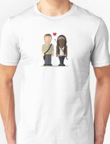 The Walking Dead - Richonne Unisex T-Shirt