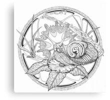Slug as power animal Canvas Print