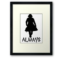 Snape and Lily Always 2 Framed Print
