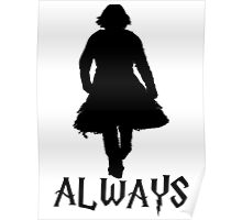 Snape and Lily Always 2 Poster