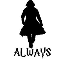 Snape and Lily Always 2 Photographic Print