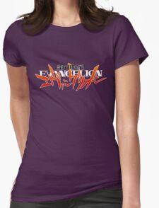 Neon Genesis Evangelion - Anime Logo Womens Fitted T-Shirt