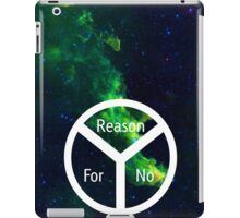 For no Reason iPad Case/Skin