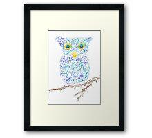 Fantasy Owl Framed Print