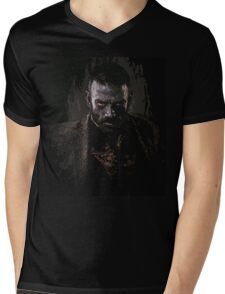 Murphy portrait - z nation Mens V-Neck T-Shirt