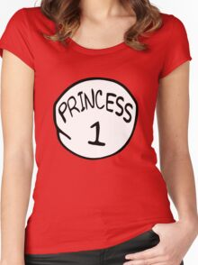 Princess 1 Women's Fitted Scoop T-Shirt