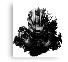 Master Chief Fragmented Canvas Print