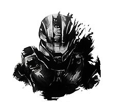 Master Chief Fragmented Photographic Print