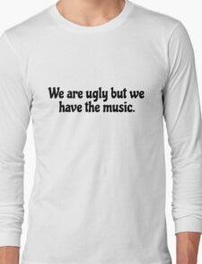 Inspirational Motivational Rock Music Lyrics Long Sleeve T-Shirt
