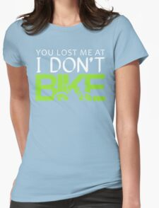 Funny Cycling Womens Fitted T-Shirt