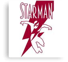 Starman: a new superhero is born Canvas Print