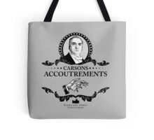 Carsons Accoutrements - Downton Abbey Industries Tote Bag