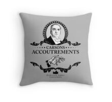 Carsons Accoutrements - Downton Abbey Industries Throw Pillow