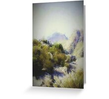 Top of the mountain Greeting Card