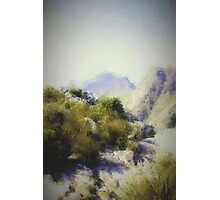 Top of the mountain Photographic Print