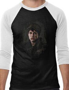 10k portrait - z nation Men's Baseball ¾ T-Shirt