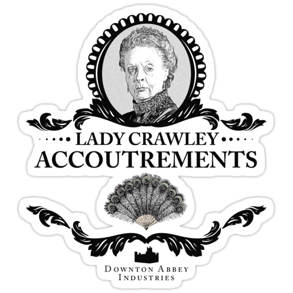 Lady Crawley - Downton Abbey Industries by Rob Stephens