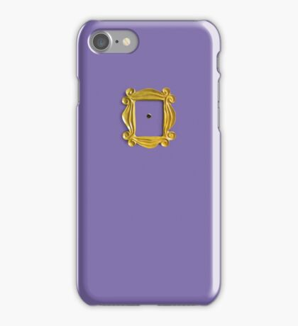 Friends peephole frame iPhone Case/Skin
