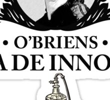 O'Briens Aroma - Downton Abbey Industries Sticker