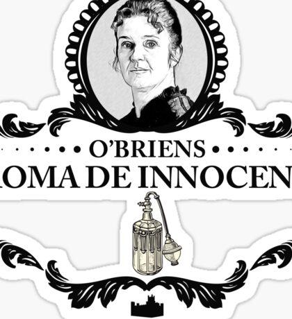 O'Briens Aroma - Downton Abbey Industries Sticker