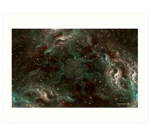 The Cannabis Milky Way Art Print
