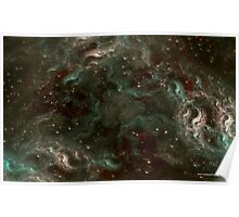 The Cannabis Milky Way Poster