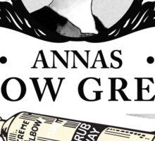 Annas Elbow Grease  - Downton Abbey Industries Sticker