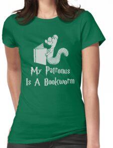 Bookworm Patronus Womens Fitted T-Shirt