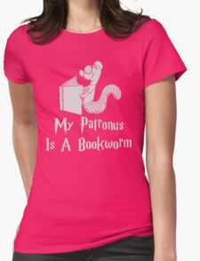Bookworm Patronus Womens Fitted T-Shirt