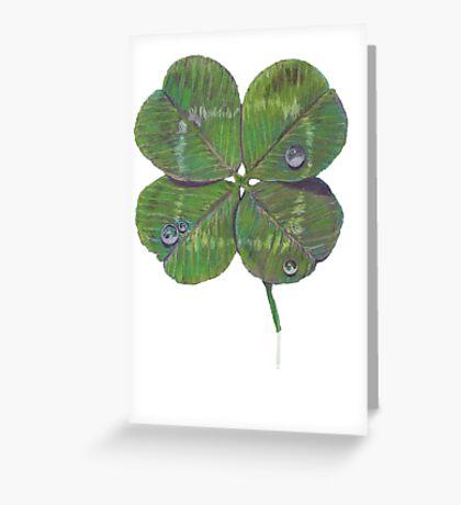 Shamrock Greeting Card