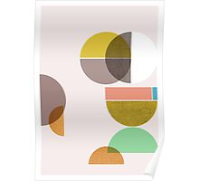 Still Life with circle Poster