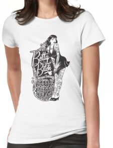 Side Show Freaks - Betty Bitch Womens Fitted T-Shirt
