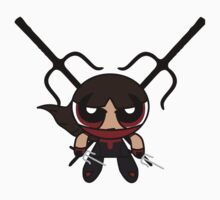 Powerpuff Elektra Baby Tee