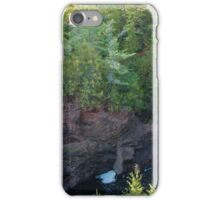 Brownstone Falls - Copper Falls iPhone Case/Skin