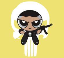 Powerpuff Punisher Kids Tee