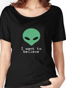 I want to believe Women's Relaxed Fit T-Shirt