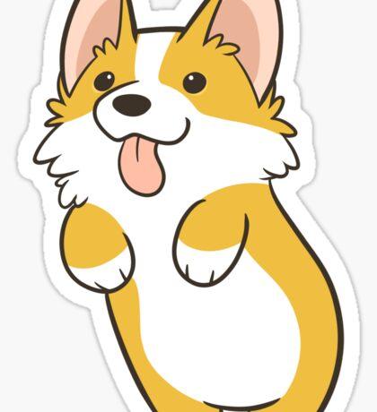 Pembroke Corgi Sticker