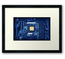 Motherboard CPU Framed Print