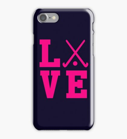 Love Field Hockey iPhone Case/Skin