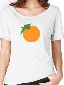 Orange Cat Women's Relaxed Fit T-Shirt