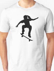 Skateboarder girl Unisex T-Shirt