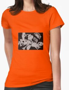photogram Womens Fitted T-Shirt