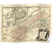 American Revolutionary War Era Maps 1750-1786 177 A new map of the Province of Quebec according to the Royal Proclamation of the 7th of October 1763 Poster