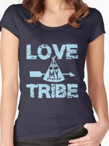 Love My Tribe Women's Fitted Scoop T-Shirt