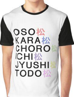 Osomatsu-san& Graphic T-Shirt